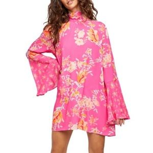 Free People Lollipop Combo Tate Tunic Dress NWT